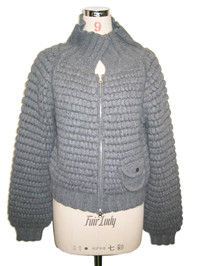 hand knitted sweater   Fine Knitting