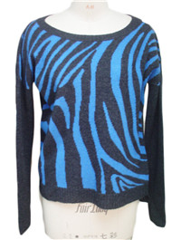 intarsia sweater 1   Fine Knitting
