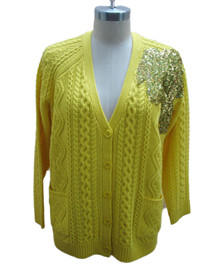 sequin sweater 1 | Fine Knitting