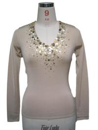 sequin sweater 2 | Fine Knitting