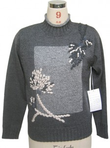 Hand Embroidery Cashmere Sweater factory