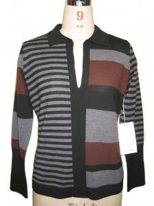 Knit factory Sweater Black Jersey