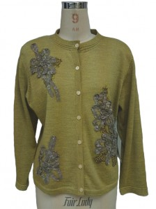 Cashmere Embroidered Knitwear Sweater factory