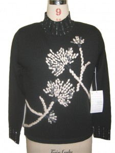 Hand Knitted Sweater Knits Black