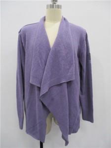 Purple Knitwear Sweater Cardigans suppliers
