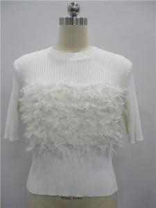 viscose knit sweaters white knit sweater factory