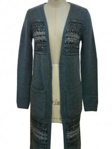 Ladies Sweater Knits Cardigan factory