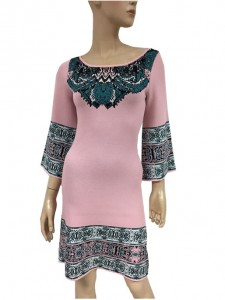 China jacquard sweater suppliers luxury sweater factory