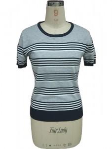 Striped Sweater Cotton Knitwear Factory