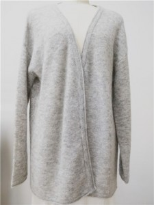 mohair knit cardigan oversized