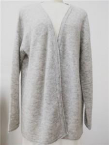 mohair knit cardigan oversized