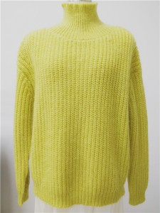 mohair sweater yellow