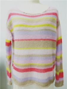 mohair sweater striped knits