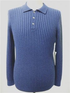 navy sweater wool cashmere