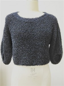 paper yarn knitwear high end fashion sweater
