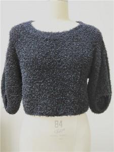 paper yarn knitwear high end fashion sweater