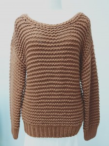 hand knitted sweater wool