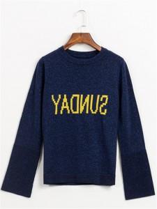 cashmere sweater fineknitting navy