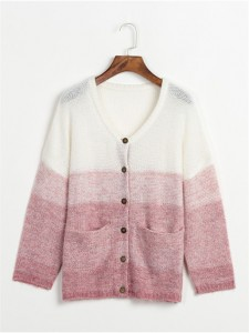 knit sweater fashion pink fineknitting