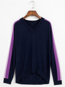 navy intarsia sweater fineknitting