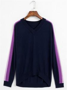 navy intarsia sweater fineknitting
