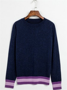 navy cashmere sweater fashion