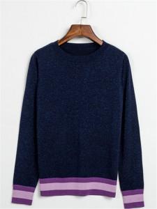 navy cashmere sweater fashion