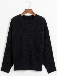 sweater fineknitting fashion black