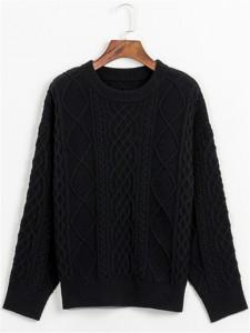 sweater fineknitting fashion black