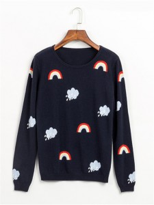 sweater fineknitting fashion clouds
