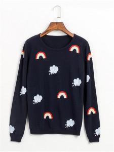 sweater fineknitting fashion clouds