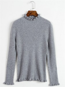 sweater fineknitting fashion grey