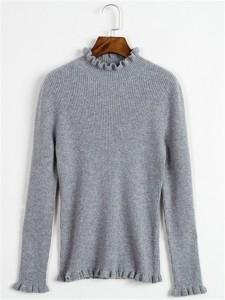 sweater fineknitting fashion grey