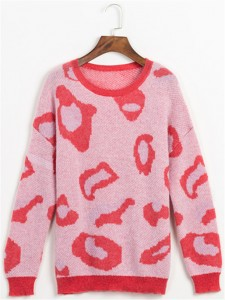 mohair sweater fineknitting fashion jacquard