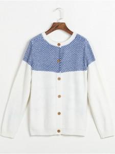 white sweater fineknitting fashion