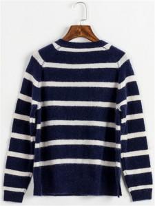 black white mohair sweater