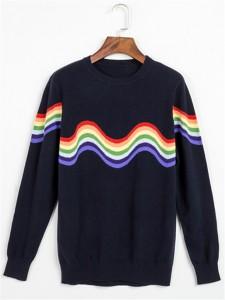 cashmere sweater intarsia knits