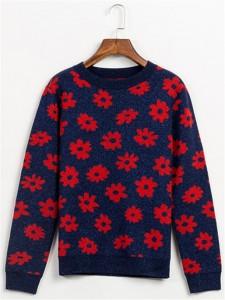wool sweater jacquard knits