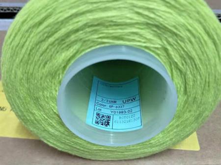 UPW cashmere yarn cone